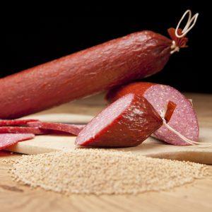 Die Neudorfer - Salami; Zervelat lang